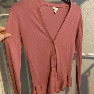 Hinge pink sweater from Nordstrom